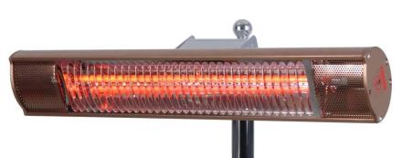 InfraPlus Terrassvärmare 1500 W stål
