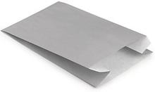 Bunte Papierbeutel 120 x 45 x 190 mm hellgrau