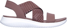 Skechers Womens Ultra Flex Sandal Mauve