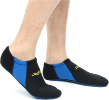 Schwimmen im Freien Schnorchelsocken Weiche Strandschuhe Wassersport Kurze Socken