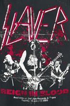 Slayer - Reign In Blood Distress -Tanktopp - svart