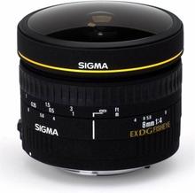 SIGMA AF 8mm f/3,5 DG Fisheye EX CIRKULÄR NIKON
