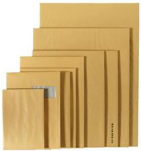 Versandtasche mit Papprückwand, braun 450 x 650 mm