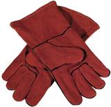 GYS Multifunktionella handskar läder röd