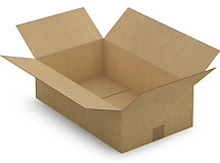1-welliger Karton 500 x 300 x 150 mm