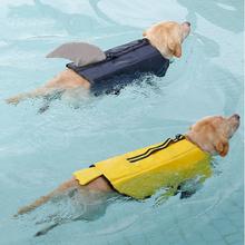 2 Muster-Haustier-Hundewasserdichter Schwimmweste-Haustier-Kleidung