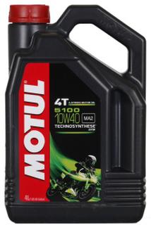 Motul 5100 4T 10W-40 4 Liter Kanister