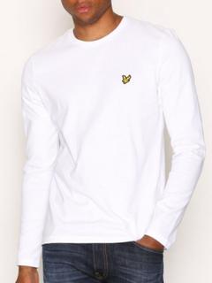 Lyle & Scott LS Crew Neck T-shirt Gensere White