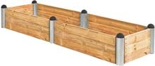 Plus Odlingslåda Pipe 270x80-Träfärgat