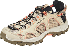 Salomon Techamphibian 3 Shoes Dam vintage kaki/bungee cord/living coral 2018 UK 4,5   EU 37 1/3 Paddlingsskor