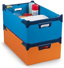 Kunststoff Box Orange 36 l