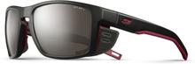 Julbo Shield Alti Arc 4 Sunglasses black/red/red-brown flash silver 2019 Sportglasögon
