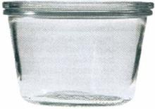 bokalen WECK recht 0.25 l, 4 stuks +ringen+klemmen