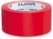 Farbiges PVC Packband RAJA, rot 50 mm x 66m
