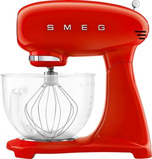 Smeg Köksassistent, 4,8 liter, röd m/glasskål