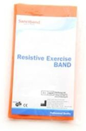 Sanctband Resistive Exercise Band Orange/Light