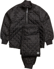 Thermo Set Outerwear Thermo Outerwear Svart Mikk-Line