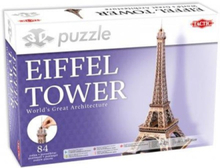 Eiffel Tower Puzzle 3D
