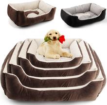 Haustier Hund Warm Nest Bett Welpen Katze Weiche Fleece Gemütliche Matte Pad Kennel Haus Kissen