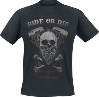 Ride Or Die - Ride Or Die - T-shirt - svart