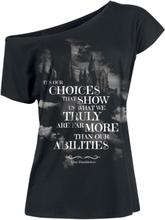 Harry Potter - Choices -T-skjorte - svart