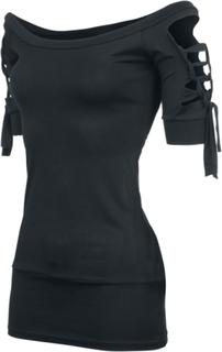 Outer Vision - Kork - T-shirt - svart