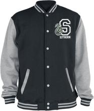 Harry Potter - Slytherin -College-jakke - svartmelert, grå