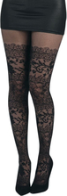 Pamela Mann - Lace -Tights - svart