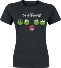 Be Different! T-shirt - svart