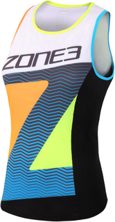 Zone3 Zone3 Women's Lava Long Distance Tri Top - Triatlontrøjer