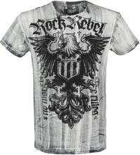 Rock Rebel by EMP - Rebel Soul - T-shirt - vit