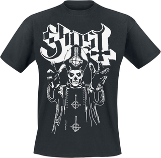 Ghost - Papa's Wrath - T-shirt - svart