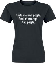 Morning People T-shirt - svart