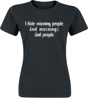 Morning People - Morning People - T-shirt - svart
