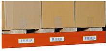Etikettenhalter in Gelb, magnetisch, 30 x 100 mm