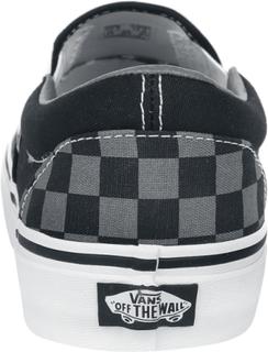 Vans - Classic Slip-On Checkerboard -Sneakers - svart-grå