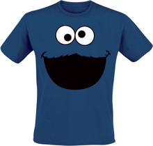 Sesam Stasjon - Monster -T-skjorte - kongeblå