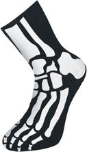 Skjelett - -Sokker - svart