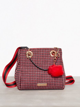 Håndvesker - Red River Island Check Mini Tote Bag