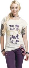 Harry Potter - Luna Lovegood - Just As Sane As I Am - T-shirt - krämmelerad
