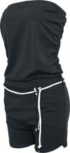 Urban Classics - Ladies Hot Turnup Jumpsuit - Träningsoverall - svart