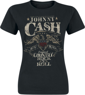 Johnny Cash - Rock 'n' Roll -T-skjorte - svart