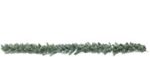 Fir garland, snowy, PE, 180cm