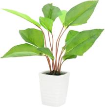 Fan leaf, artificial, 45cm