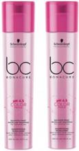 Schwarzkopf BC Bonacure pH 4.5 Color Freeze Sulfate-free Micellar Shampoo Duo 2x250ml
