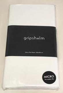 För båten/husvagnen Gripsholm Underlakan Enkel