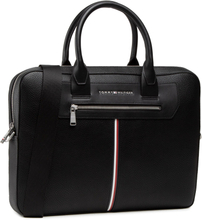 Laptopväska TOMMY HILFIGER - Th Downtown Super Slim Comp Bag AM0AM07216 BDS