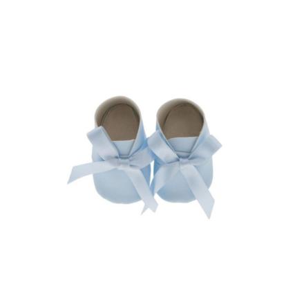 Así dukkesko, lyseblå - til dukke på 43-46 cm. - LykkeLeg