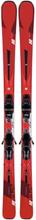 K2 Ikonic 84 + M3 12 Tcx Light Quikclick Slalomskidor Röd 163