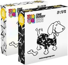 Snug Snug Symbols One Doggy Deken Met Mouwen - Sort